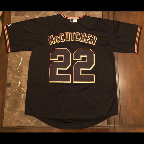 new arrival 4365e caa53 Andrew McCutchen SF Giants stitched Jersey